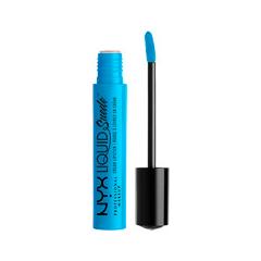 Жидкая помада NYX Professional Makeup Liquid Suede Cream Lipstick 16 (Цвет 16 Little Denim Dress variant_hex_name 009FD7) карандаш для бровей eylure brow pencil 30 цвет 30 blonde variant hex name ddb975