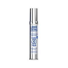 Антивозрастной уход Librederm 3D Гиалуроновый филлер. Дневной крем для лица SPF15 (Объем 30 мл)