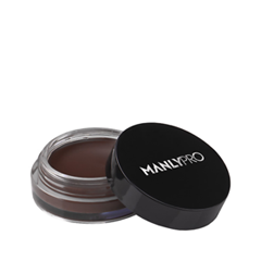 Брови Manly PRO Кремовый мусс для бровей Mocha Chocolate Chip (Цвет 02 Mocha Chocolate Chip variant_hex_name 52403E) too faced matte chocolate chip палетка матовых теней matte chocolate chip палетка матовых теней