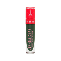 Жидкая помада Jeffree Star Velour Liquid Lipstick Crocodile Tears (Цвет Crocodile Tears variant_hex_name 1E3320) тени jeffree star палетка теней androgyny