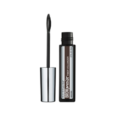 Тушь для бровей Maybelline New York Brow Precise Fiber Filler 06 (Цвет 06 Deep Brown variant_hex_name 4A3833) тушь maybelline тушь для ресниц lash sensational чёрная maybelline