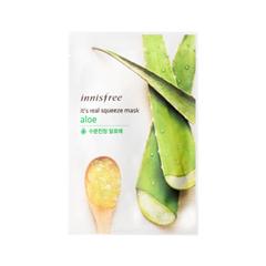 Тканевая маска InnisFree Its Real Squeeze Mask Aloe (Объем 20 мл)