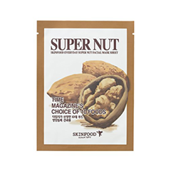 цены на Тканевая маска SkinFood Everyday Super Nut Facial Mask Sheet (Объем 21 мл) в интернет-магазинах