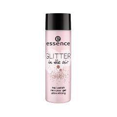Снятие макияжа essence Glitter In The Air Nail Polish Remover Gel Ultra Strong (Объем 100 мл)  in essence 100ml
