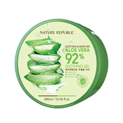 Гель Nature Republic Soothing and Moisture Aloe Vera 92% Soothing Gel (Объем 300 мл)