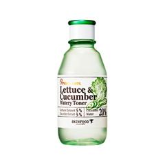 Тоник SkinFood Premium Lettuce & Cucumber Watery Toner (Объем 180 мл) эмульсия skinfood premium lettuce