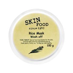 Очищение SkinFood Rice Mask Wash Off (Объем 100 мл) skinfood rice маска смываемая для лица rice маска смываемая для лица