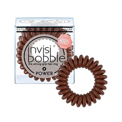 Резинки invisibobble Резинка-браслет для волос Power Pretzel Brown (Цвет Pretzel Brown variant_hex_name 50281D)