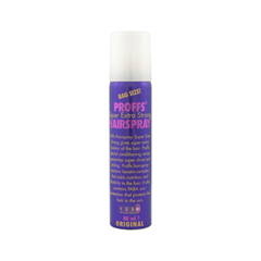 Спрей для укладки Proffs Super Extra Strong Hairspray (Объем 80 мл) лак framesi by super hold hairspray
