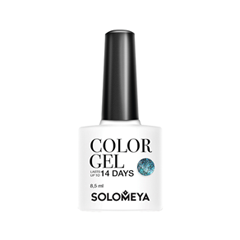 Polar Lights Collection Color Gel SCGС028 (Цвет SCGС028 Polar Lights variant_hex_name 4A6A79)