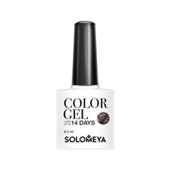 Гель-лак для ногтей Solomeya Polar Lights Collection Color Gel SCGС042 (Цвет SCGС042 Galaxy variant_hex_name 7B6667) чехлы для телефонов samsung чехол led view n930 для galaxy note 7 ef nn930pbegru
