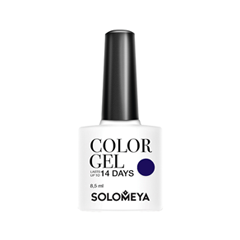 Гель-лак для ногтей Solomeya Royal Family Collection Color Gel SCG025 (Цвет SCG025 Charlotte variant_hex_name 4C4186)
