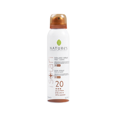 Защита от солнца Natures Isolare Face-Body Sun Spray SPF 20 (Объем 150 мл)