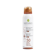 Защита от солнца Natures Isolare Face-Body Sun Spray SPF 50 (Объем 150 мл)