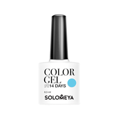 Гель-лак для ногтей Solomeya Colors Of Spring Collection Color Gel SCG078 (Цвет SCG078 Blue Sky variant_hex_name 73C2E1) solomeya гель лак для ногтей scg166 фисташка color gel pistachio 8 5 мл