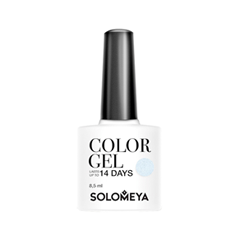 Гель-лак для ногтей Solomeya Colors Of Spring Collection Color Gel SCGLE302 (Цвет SCGLE302 Waterfall variant_hex_name D9EBF7) solomeya гель лак для ногтей scg166 фисташка color gel pistachio 8 5 мл