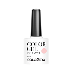 Гель-лак для ногтей Solomeya Floral Garden Color Gel SCG020 (Цвет SSG020 Tea Rose variant_hex_name FDE4E4) solomeya гель лак для ногтей scg166 фисташка color gel pistachio 8 5 мл