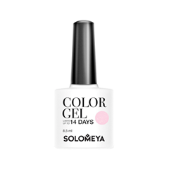 Гель-лак для ногтей Solomeya Floral Garden Color Gel SCGLE051 (Цвет SCGLE051 Pink Iris variant_hex_name F1C2D4) гель лаки solomeya гель лак color gel тон espresso scg005 эспрессо