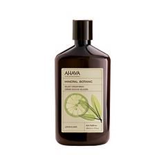Жидкое мыло Ahava Mineral Botanic Velvet Cream Wash Lemon & Sage (Объем 500 мл) ahava mineral radiance дневной крем spf15 mineral radiance дневной крем spf15