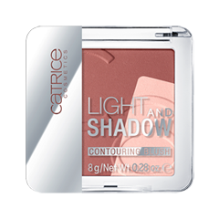 Румяна Catrice Light And Shadow Contouring Blush 010 (Цвет  010 Bronze Me Up, Scotty! variant_hex_name FDC8BE) румяна catrice artist shading palette 010 цвет 010 bronzéclat variant hex name ffab97