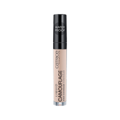 Консилер Catrice Liquid Camouflage - High Coverage Concealer 005 (Цвет 005 Light Natural  variant_hex_name F2CDAF) catrice консилер жидкий liquid camouflage 010 porcellain 5мл