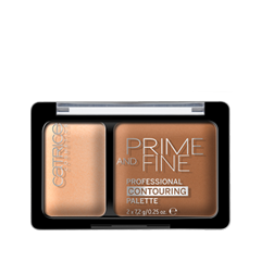 Корректор Catrice Prime And Fine Professional Contouring Palette 030 (Цвет 030 Sunny Sympathy variant_hex_name E4B08E) корректор catrice prime and fine dark circle eraser 020 цвет 020 nude rosé variant hex name fec0b7