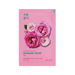 Тканевая маска Holika Holika Pure Essence Mask Sheet Damask Rose (Объем 20 мл) ночная маска holika holika wine therapy sleeping mask red wine объем 120 мл