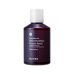 Маска Blithe Сплэш-маска омолаживающая Rejuvenating Purple Berry (Объем 200 мл) сыворотки blithe сыворотка спрессованная увлажняющая хрустальный лед