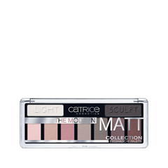Для глаз Catrice The Modern Matt Collection Eyeshadow Palette 010 (Цвет 010 The Must-Have Matts variant_hex_name B19F9B) румяна catrice artist shading palette 010 цвет 010 bronzéclat variant hex name ffab97