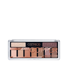 Для глаз Catrice The Precious Copper Collection Eyeshadow Palette 010 (Цвет 010 Metallux variant_hex_name B6876E) румяна catrice artist shading palette 010 цвет 010 bronzéclat variant hex name ffab97