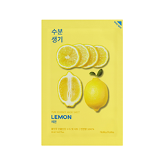 Тканевая маска Holika Holika Pure Essence Mask Sheet Lemon (Объем 20 мл) тканевая маска holika holika aloe 99% soothing gel jelly mask sheet объем 23 мл