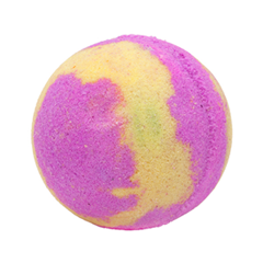 Бомба для ванны Tasha Бурлящий шарик для ванны с сюпризом Динь Динь (Цвет Динь Динь variant_hex_name d36eb2)