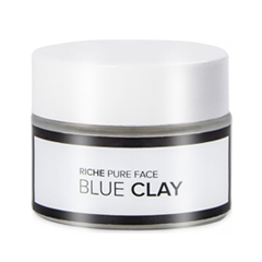 Маска Riche Face Mask Blue Clay (Объем 50 г) маска matis clay mask balancing and purifying mask объем 50 мл