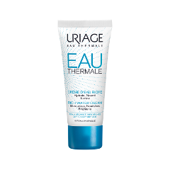 Крем Uriage Eau Thermale Rich Water Cream (Объем 40 мл) набор uriage eau thermale my water essentials set набор крем д глаз 15 мл крем д лица 40 мл сыворотка 30 мл
