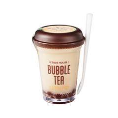 Ночная маска Etude House Bubble Tea Sleeping Pack Black Tea (Объем 100 г) 100 мл маска caolion premium blackhead o2 bubble pore pack объем 50 г