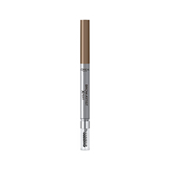 Карандаш для бровей L'Oreal Paris Brow Artist Xpert Mechanical Brow Pencil 102 (Цвет Холодный блонд variant_hex_name 755441) карандаш для бровей l oreal paris brow artist xpert mechanical brow pencil 107 цвет темно коричневый variant hex name 573120