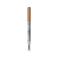 Карандаш для бровей L'Oreal Paris Brow Artist Xpert Mechanical Brow Pencil 101 (Цвет Блонд variant_hex_name c0987e) карандаш для бровей l oreal paris brow artist xpert mechanical brow pencil 107 цвет темно коричневый variant hex name 573120