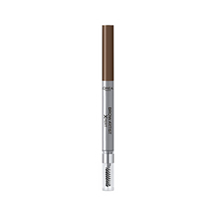 Карандаш для бровей L'Oreal Paris Brow Artist Xpert Mechanical Brow Pencil 105 (Цвет Коричневый variant_hex_name 57493b) карандаш для бровей l oreal paris brow artist xpert mechanical brow pencil 107 цвет темно коричневый variant hex name 573120