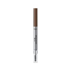 Карандаш для бровей L'Oreal Paris Brow Artist Xpert Mechanical Brow Pencil 105 (Цвет Коричневый variant_hex_name 57493b) косметические карандаши l oreal paris механический карандаш для бровей brow artist xpert оттенок 107 темно коричневый