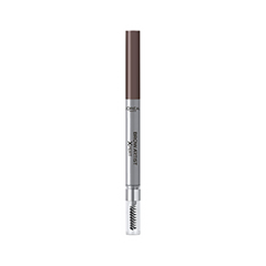 Карандаш для бровей L'Oreal Paris Brow Artist Xpert Mechanical Brow Pencil 107 (Цвет Темно-коричневый variant_hex_name 573120) карандаш для бровей l oreal paris brow artist xpert mechanical brow pencil 107 цвет темно коричневый variant hex name 573120