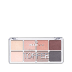 Для глаз essence All About … Eyeshadow Palettes 06 (Цвет 06 Toffee variant_hex_name C6A8A6) тени для век essence all about … eyeshadow palettes 06 цвет 06 toffee variant hex name c6a8a6