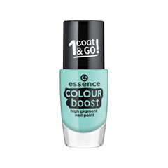 Лак для ногтей essence Colour Boost High Pigment Nail Paint 06 (Цвет 06 Instant Happiness  variant_hex_name 8DBEB9)