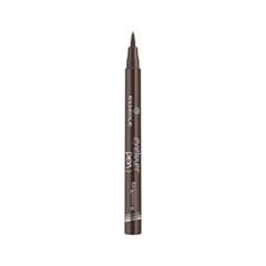 Подводка essence Eyeliner Pen Longlasting 03 (Цвет 03 Brown variant_hex_name 463239) подводка essence liquid ink eyeliner 02 цвет 02 bronzy