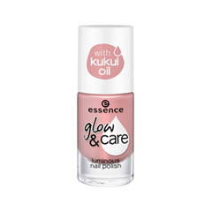 Лак для ногтей essence Glow  Care Luminous Nail Polish 02 (Цвет 02 Go For Glow  variant_hex_name E3A19F)