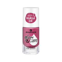 Лак для ногтей essence Glow & Care Luminous Nail Polish 05 (Цвет 05 Love And Care  variant_hex_name A83E63) дизайн ногтей essence наклейки для ногтей bracelet nail stickers 10