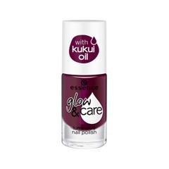 Лак для ногтей essence Glow & Care Luminous Nail Polish 06 (Цвет 06 Berry Caring  variant_hex_name 68274E) дизайн ногтей essence наклейки для ногтей bracelet nail stickers 10