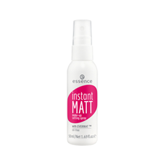 Фиксатор макияжа essence Instant Matt Make-up Setting Spray (Объем 50 мл) make up store instant perfection bare цвет bare variant hex name ddba9a