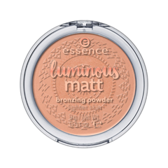 Бронзатор essence Luminous Matt Bronzing Powder 01 (Цвет 01 Sunshine  variant_hex_name E4A488)