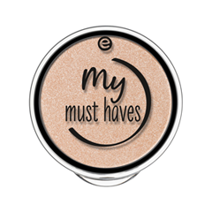 Тени для век essence My Must Haves Eyeshadow 01 (Цвет 01 Go Goldie! variant_hex_name F6D9C3) тени для век essence тени хайлайтер hi lighting eyeshadow mousse 01 цвет 01 hi ivory variant hex name fdece4