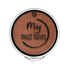 Тени для век essence My Must Haves Eyeshadow 03 (Цвет 03 Miss Foxy Roxy variant_hex_name A3664D) тени для век essence тени хайлайтер hi lighting eyeshadow mousse 01 цвет 01 hi ivory variant hex name fdece4